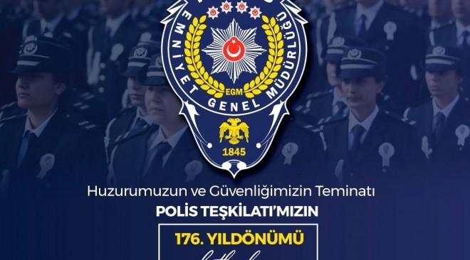 Türk Polis Teşkilatımızın 176.Yılı Kutlu Olsun