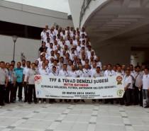 Altyapı Antrenörümüz Şükrü Akar'a Ödül