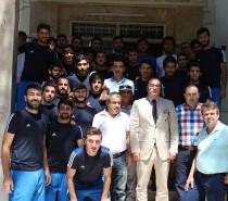 Kızılcabölükspor'dan Ali Arıkan'a Ziyaret